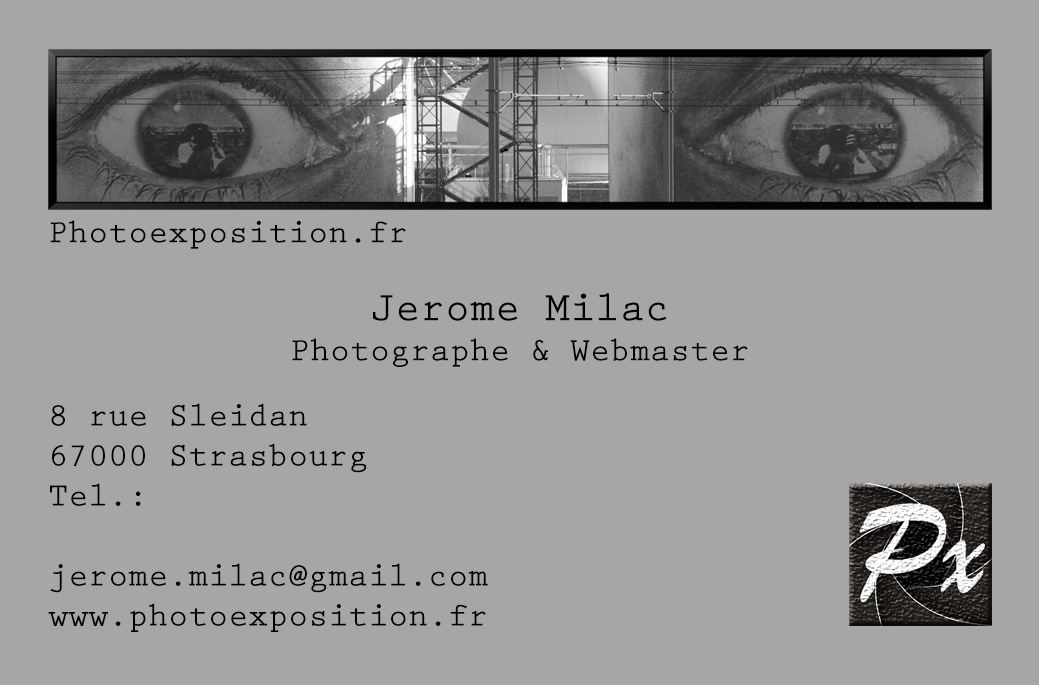 Carte De Visite Photoexposition Alt