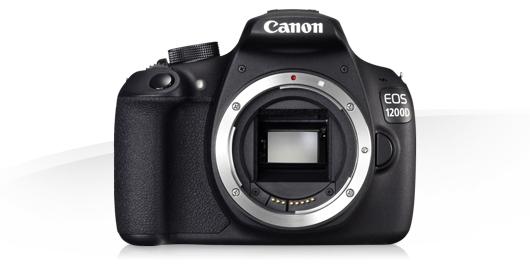 Objectifs recommandes pour Canon EOS 1200D