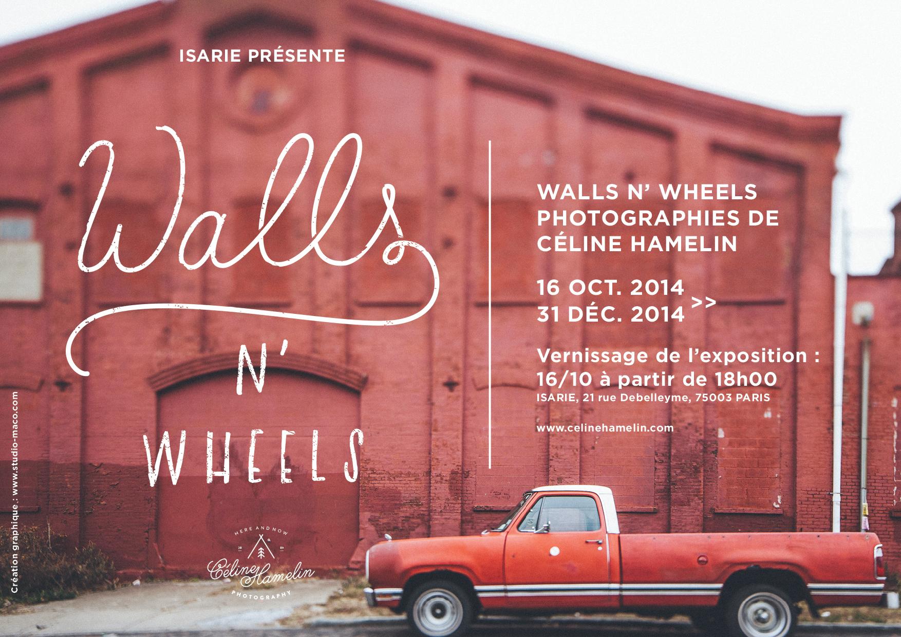 Celine Hamelin – Walls 'n Wheels
