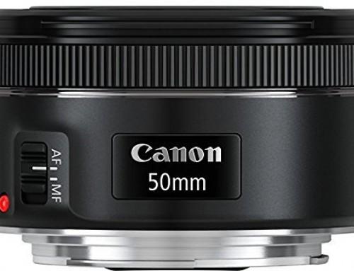 Canon 750D – Objectifs recommandés