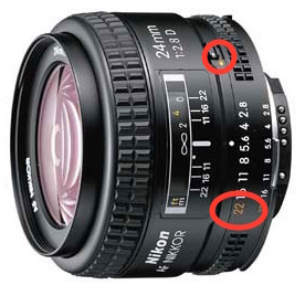 Nikon 24mm AFD
