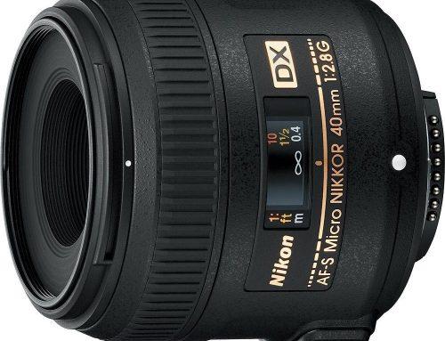 Objectifs recommandés pour Nikon D5500