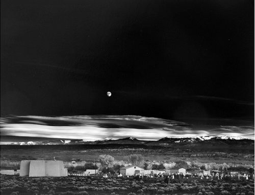 Moonrise Hernandez New Mexico