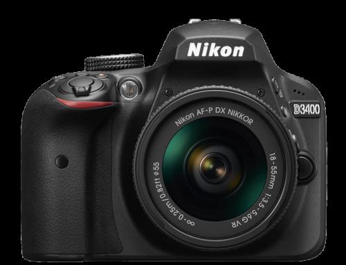 Nikon D3400 – Rien de neuf
