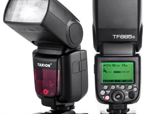 Test : Flash Tarion TF685N pour Nikon : Une bombe