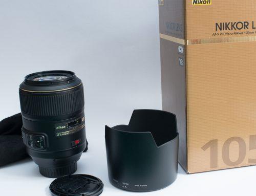 Nikon AF-S 105mm VR – VENDU