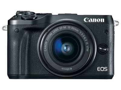 canon eos m6 hybride