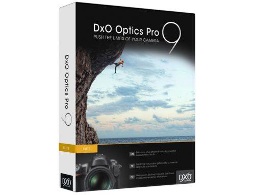 Promo Gratuite sur DxO Optics Pro 9