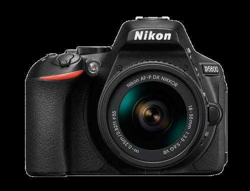 Nikon D5600 – Objectifs recommandés