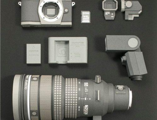 Olympus OM-D E-M5 en Papier