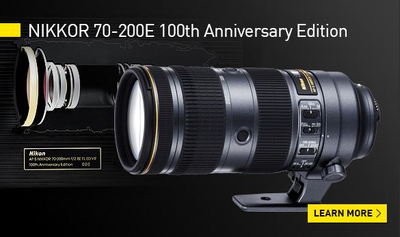 nikon 70-200E 100th anniversary ediion