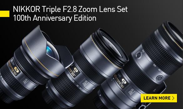 NIKKOR Triple F2.8 Zoom Lens Set 100th Anniversary Edition