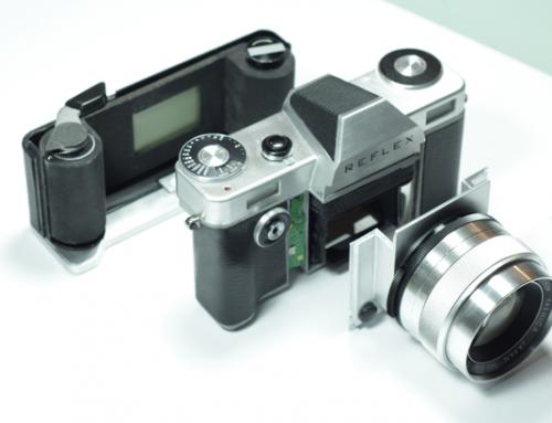 Reflex I : 1er appareil Reflex argentique à sortir depuis 2004