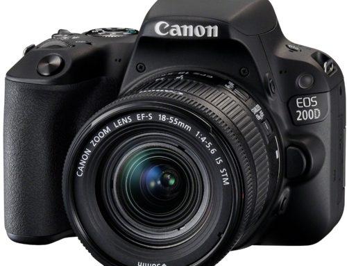 Objectifs recommandés pour Canon EOS 200D