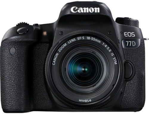 Objectifs recommandés pour Canon EOS 77D