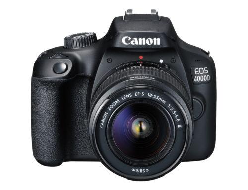 Objectifs recommandés pour Canon EOS 4000D