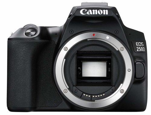 Objectifs recommandés pour Canon EOS 250D