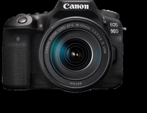 Objectifs recommandés pour Canon EOS 90D