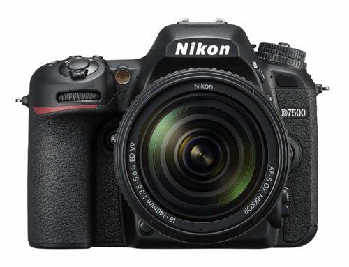 Objectifs recommandés pour Nikon D7500